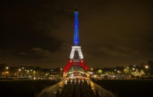 La Torre Eiffel después de los atentados